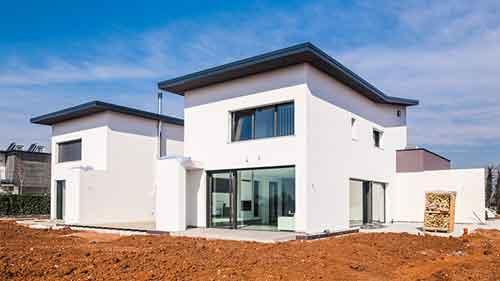 realizzazione casa moderna montebelluna