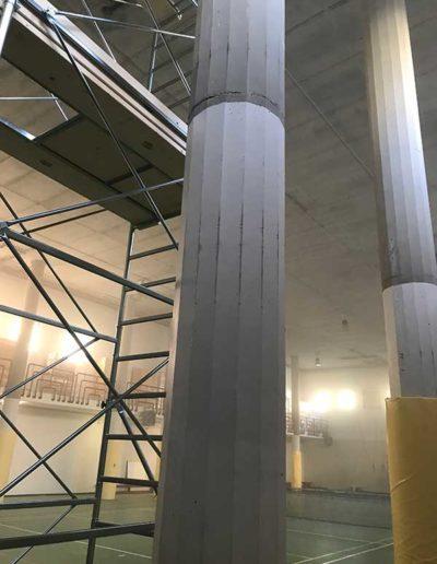 intonaco-e-tinteggiatura-su-pilastri-cirolari-in-cemento-armato